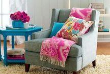 Bright, Fun Living Room / Vibrant, modern and fun living
