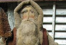 Olde Saint Nick / Santa's of a Primitive Nature / by Debbie Munroe Bacorn