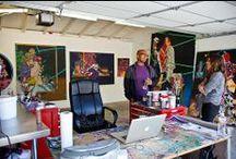 Studio's & Spaces / Art studios & offices making & selling art.