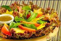 Delícia de Salada! / by Glaucia