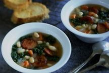 Soups On!!! / Soups and such- cold weather, comfort food that's healthy!