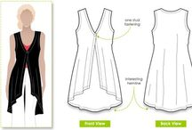 Sewing patterns and Patrones