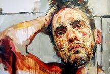 Figurative Abstract Art / All artists see figurative shapes differently.