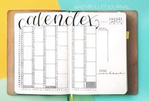 Bullet Journal | Future Planning / Bullet journal future planning • future log • Calendex