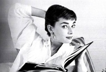 """Audrey and Grace / """"To be noticed without striving to be noticed, this is what elegance is about."""" - Luciano Barbera / by Ann McNary"""