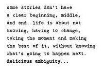 Words / Always bear in mind....