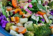 Salads / Healthy salads that are gluten free, dairy free, soy free and sugar free. These salads can be created all year long!