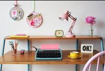 Organise & Simplify / Tidy up, organise, store, label. Make the clutter go away!
