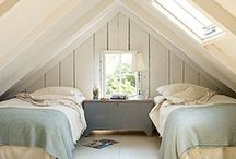 Loft Room Love / Various loft designs and inspirations for decorating these cosy hideaways...