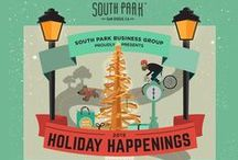 Luminaria San Diego / Lights and holiday festivity throughout South Park from December 1-31. Enjoy lights throughout the neighborhood, visit South Park shops, and come by for the Luminaria Holiday Walkabout!