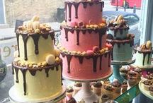 Cakes and Macaron Towers / Cakes galore made by us and others