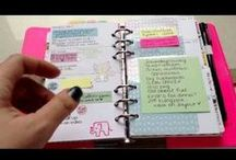 Day Planner Ideas / I've decided to go back to a Day Planner Flavia style since the new Iphone calendar SUCKS! These are ideas to get organized, finally!  / by Jennifer Ridenhour