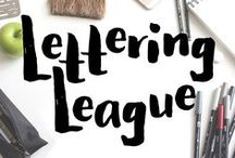 Lettering League / Hey guys! This is a collaborative board for all things hand lettering and calligraphy. We promote helpful and inspiring pins To join the board, send me a request at letteringleague@gmail.com. Join the Facebook group at http://bit.ly/letteringleague and follow on Instagram @letteringleague