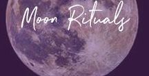 ++ moon rituals ++ / moon ritual, moon rituals, new moon ritual, full moon ritual, manifesting ritual
