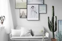 Mindful Minimalism / Minimalist decor spaces capture an airy quality that lets you breathe between its open expanses and uncluttered aesthetic. Color palettes range from soothing pastels on white to contrasting colors and patterns that add a playful hint of brightness. Declutter your decor and mind, and let your creativity inhabit these beautiful spaces.
