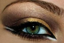 Dramatic Eyes / Smokey eyes, metallic shadows, and winged eyeliner. Eye makeup inspiration for dramatic, attention getting eyes! / by Bloom.com