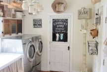 Laundry Rooms Aren't So Bad / The laundry room has finally come into its own as a bright and organized cleanup command center. Our product experts have put together a board full of ideas and products to take your laundry room to the next level - everything from energy-star machines to flooring options to the best layout and accessories to make the space your own.