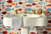 Powder Rooms / Nothing makes guests feel more welcome than a stylish powder room. Product experts from Ferguson Bath, Kitchen & Lighting Gallery offer up their favorite pins on decorating ideas, design tips, and pictures of our favorite powder rooms. / by Ferguson Showrooms