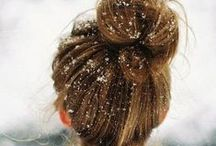 Updos, Topknots, & Buns / Updo hairstyles from everyday casual to elegant and intricate styles for a night out. / by Bloom.com