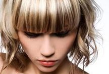 """Bangs & Fringe / Thinking of taking the bangs plunge? Check out these styles and visit Bloom.com for more ideas to add a little """"bang"""" to your look! / by Bloom.com"""