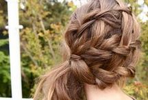 Braids & Ponytails / Endless inspiration to rock the hottest hair trend! Find new ways to wear your hair up, down, dutch braided, french braided, fishtailed, and more! / by Bloom.com