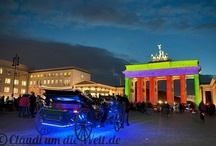 Festivals of Lights / Photos from Festival of Lights in Berlin and Fête des Lumieres in Lyon.