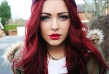 Bold & Fantasy Hair Color / Hair coloring, highlighting, and expression all over. / by Bloom.com
