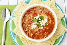 * Soup Simply Satisfying / Easy homemade and delicious soup recipes to warm you heart and comfort your soul.