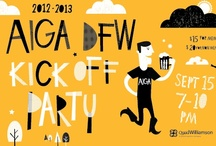AIGA DFW Event Art