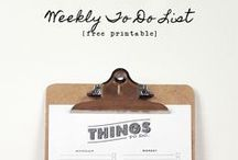 Organizing Tips and Helpful Hints / by Tracy H.