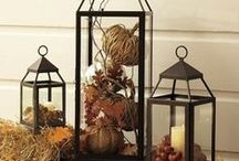 Fall Home & Party Decor / Fall is here - dress up your home or compliment any party with elegant and easy Fall decor!