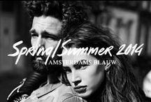 Amsterdams Blauw - S/S 14 / We proudly present the 7th denim collection of Amsterdams Blauw.