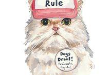 Feline friends / by Div Rods