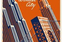 Explore: Vintage Travel Posters / Traveling the world vicariously through these beautiful vintage (and vintage-style) travel posters! Vintage travel posters distill the essence of a place so nicely. I'd love to get some of this art on my walls.