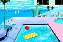 pool + beach