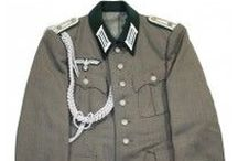 Military Uniforms / Historic military uniforms from WWI, WWII and the Civil War.