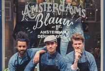 Amsterdams Blauw at Amsterdam Denim Days / This was a great indigo weekend in our hometown. Thank you to all those who joined us at Amsterdam Denim Days and our Amsterdams Blauw stores. Enjoy our visual recap of a beautiful Blauw few days here.