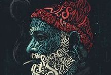 STYLE: TYPOGRAPHY / Examples of strong typographical designs.