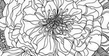 linear florals