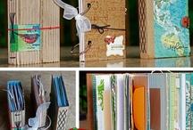 Craft Ideas: journals & books / making journals, journaling prompts, etc / by Karen Ward