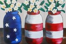 Holidays and Special Events / Holiday paintings and holiday decor from your local paint and sip studios.
