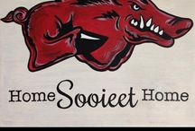 Go Hogs! / by Katie Carter
