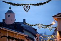 Christmas in Porvoo / Porvoo is an enchanting Christmas town.