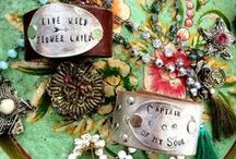 Adorn / Bohemian Inspiration & Jewelry that Inspires us at The Dove Cote Brocante. Shop: www.thedovecotebrocante.com