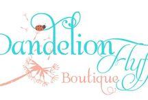 Dandelion Fluff Boutique / Children's clothing boutique / by Shannen LaPlante