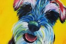 Animal Paintings / Paintings of all the furry creatures! And some not furry ones