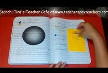 Education: IANs & Foldables / Ideas for interactive notebooks and foldables / by Tamytha Jenkins