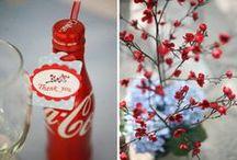 1 coca cola wedding / by Raven Daniels