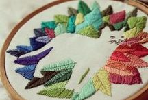 4 Needlecraft and Weaving / Embroidery and weaving / by Raven Daniels