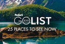 Fodor's Go List 2015 / Our Go List features the 25 can't-miss spots that we think should be on every traveler's radar in 2015. Featuring emerging hot spots, value destinations, locations that are hosting special events in 2015, and more, our list has something for every type of traveler, no matter what your budget or how much time you want to take off.  / by Fodor's Travel